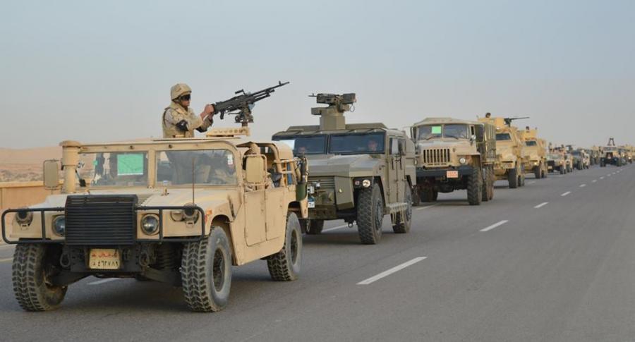 ننشر نص البيان العاشر للقوات المسلحة حول العملية «سيناء 2018»